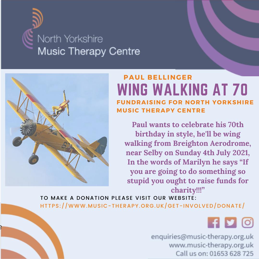Wing Walking at Seventy!
